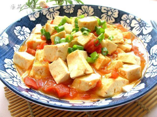 切记一点要领, 做出的家常番茄豆腐很好吃哦_番茄很好吃