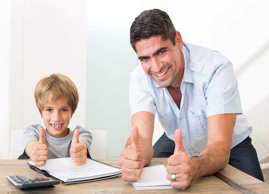 想要孩子成长为有出息的人,如果只是责罚是没有效果的!