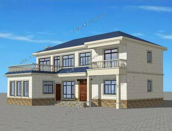 l型地基怎么建房?3款农村别墅设计方案,柴火灶地下室如何取舍?图片