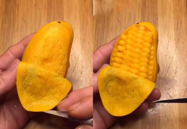 """[食材雕成玉米什么样?忍了芒果,忍了萝卜,最后却被紫薯""""圈粉""""]玉米怎么煮"""