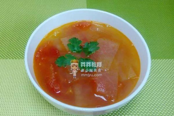 开胃祛湿--番茄冬瓜汤_冬瓜汤能祛湿吗