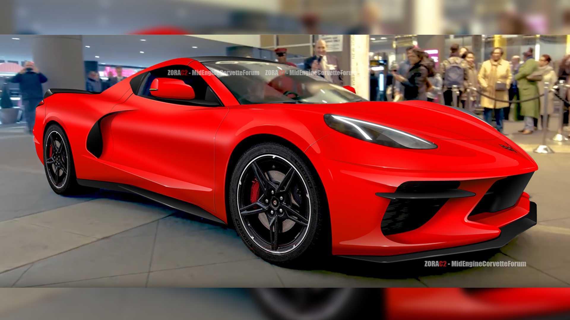 雪佛兰将推出2020款雪佛兰C8 Corvette跑车