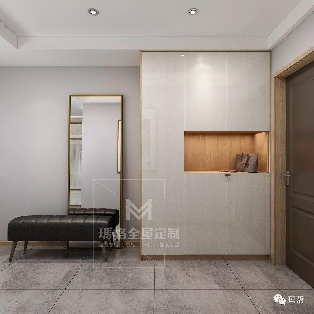 m-设计堂(第二期)丨现代简约玄关鞋柜设计指南图片