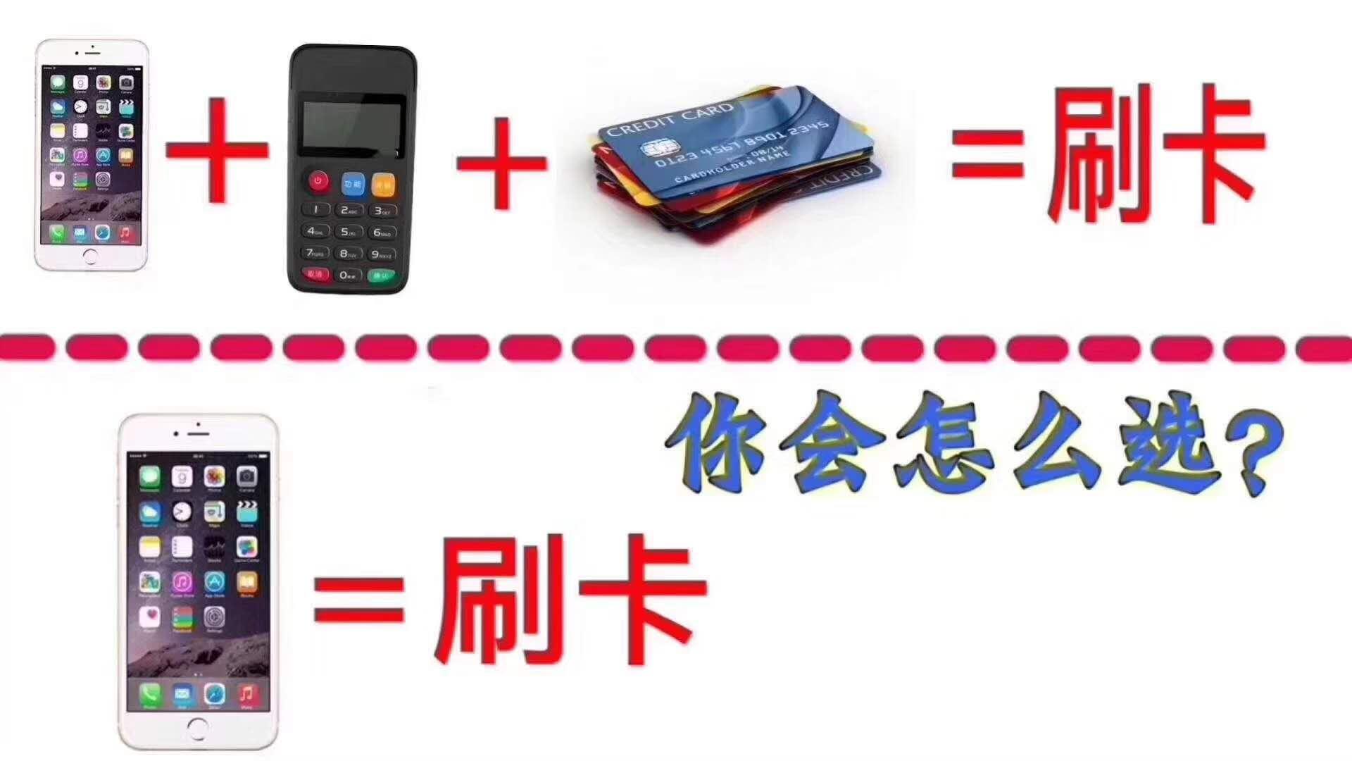 聚卡付:刷卡方式大比拼,最后是什么完胜?