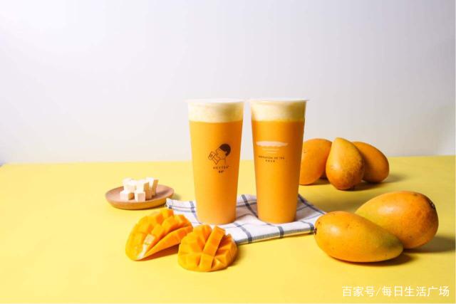 喜茶哪里有【夏天想喝喜茶不用买,教你只花10块钱,自制芝士芒芒,学会能开店】