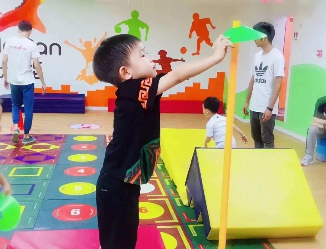 儿童运动馆锻炼原则