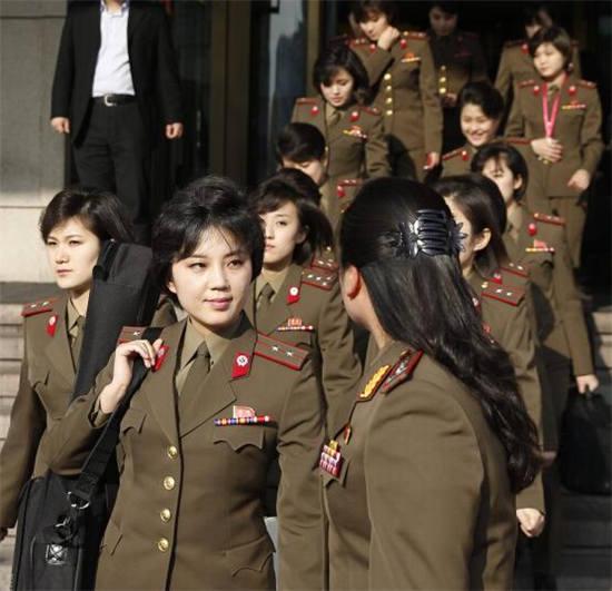 朝鲜美女图片 牡丹峰 [朝鲜牡丹峰军乐团,美女如云,不一样的味道]