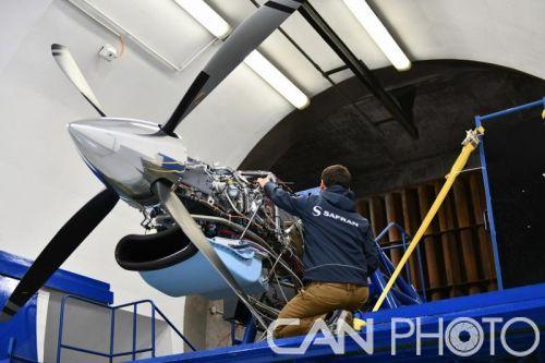 Tech TP涡轮螺桨发动机验证机首次进行地面试车
