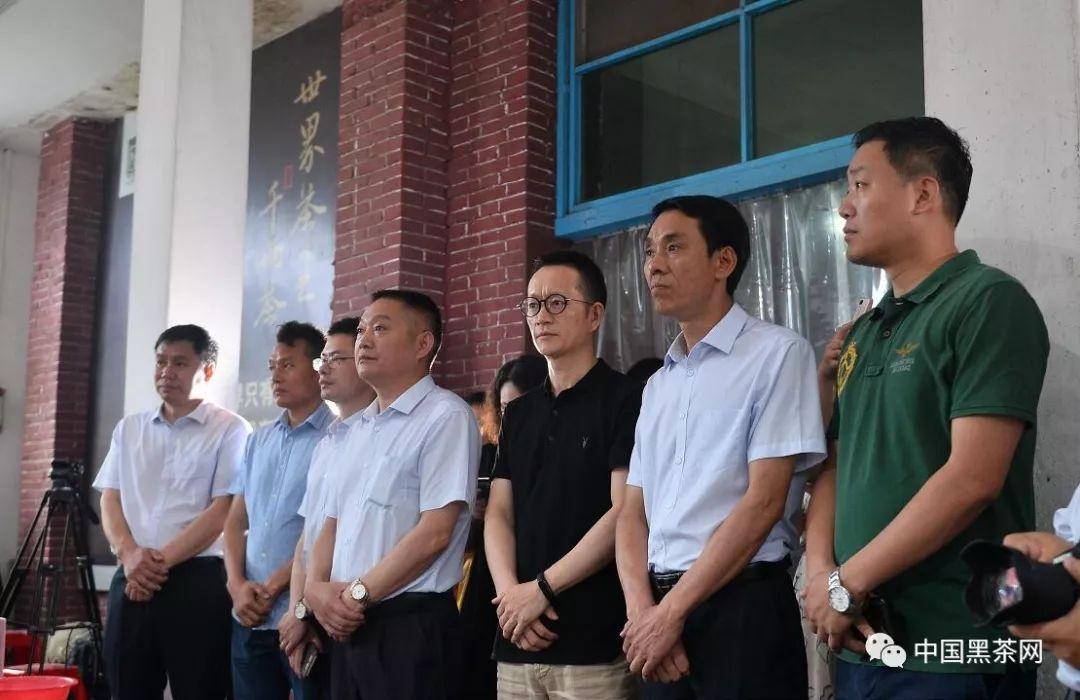 """2019白沙溪""""大师工坊""""千两茶开杠典礼隆重举行"""