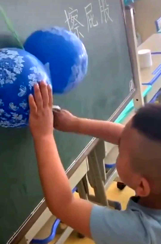 幼儿园公开课教宝宝擦屁屁,陪听的妈妈笑喷了,网友:老师太优秀