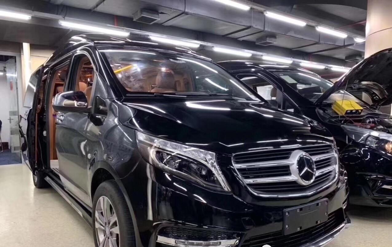 奔驰进口奔驰定制商务车,7款高顶豪华MPV低调舒适尊贵