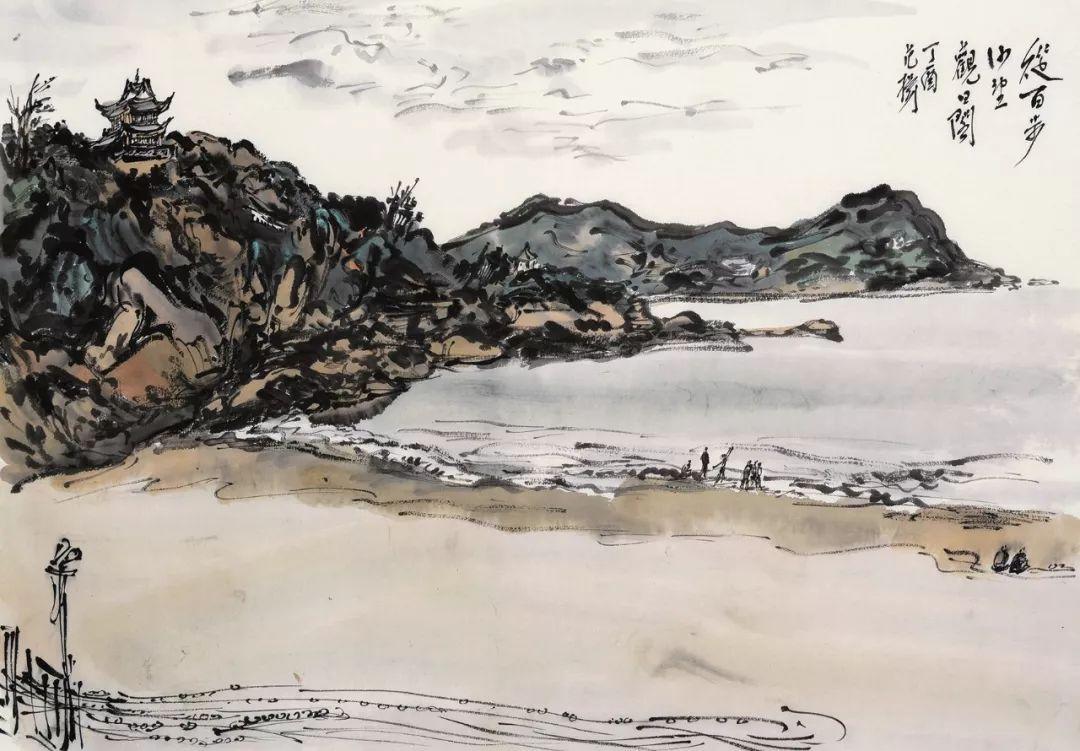 《中国书画收藏家》特别推荐山水画名家范扬作品欣赏图片