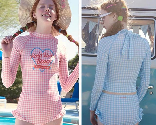 少女心爆棚的几款泳衣,总有一款适合你