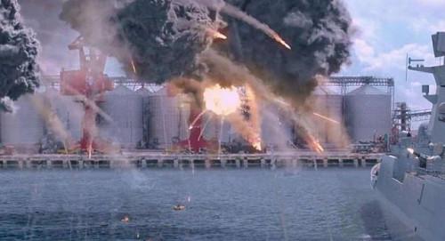 红海行动》中的1130近防炮,一分钟发射1.1万发炮弹