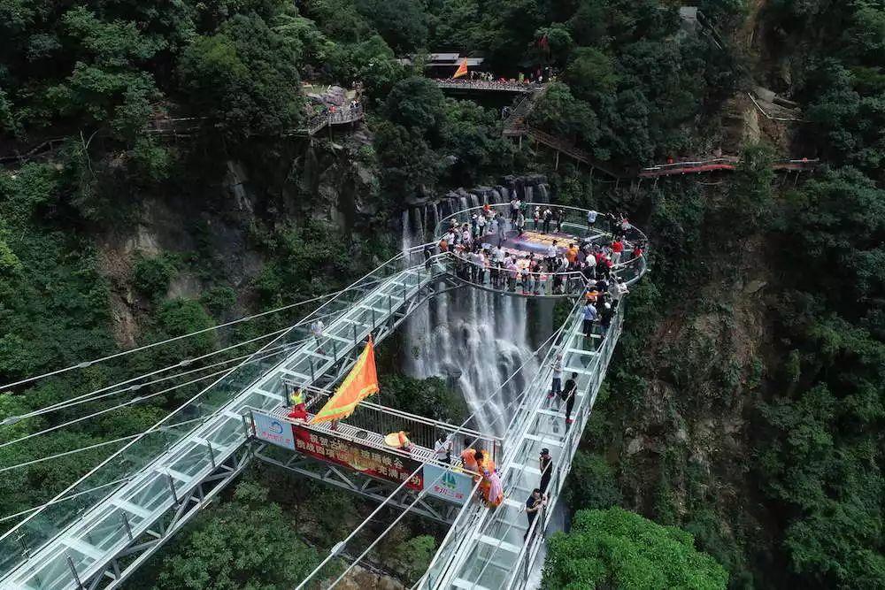 """周末嗨起来!广东11个""""网红""""玻璃桥打卡点推荐东莞有2个…(图18)"""