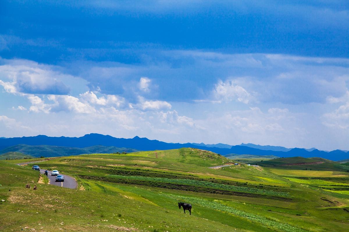 中国大陆最美的自驾之路,草原花海梯田风车,所有的美景都在这了