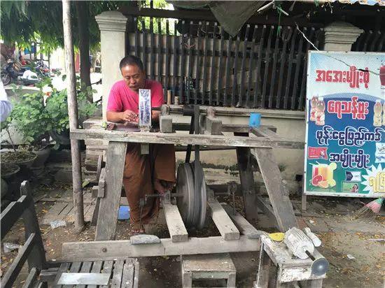 缅甸翡翠市场考察之初体验