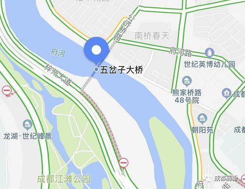 成都城南将再添一座大桥 今年底有望正式通行图片
