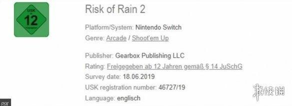 雨中冒險2》德評級網站泄游戲NS版新血液即將注入