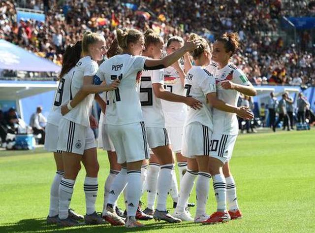 势不可挡!德国队4连胜狂轰9球0丢球 女足世界杯第一夺冠热门_德国新闻_德国中文网