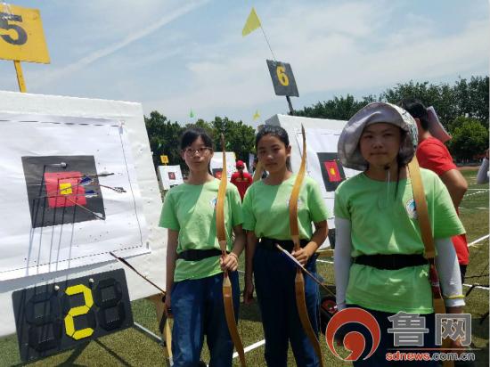 博山六中在射箭锦标赛中获佳绩