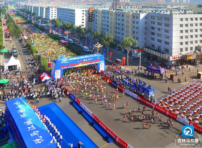 四岁吉马鸣枪开赛 三万跑者跃享江城