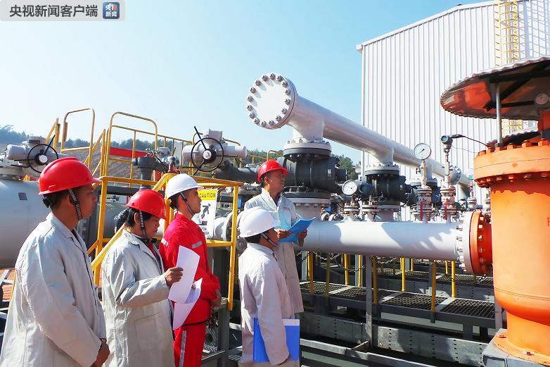 中缅原油管道累计向国内输油2000万吨