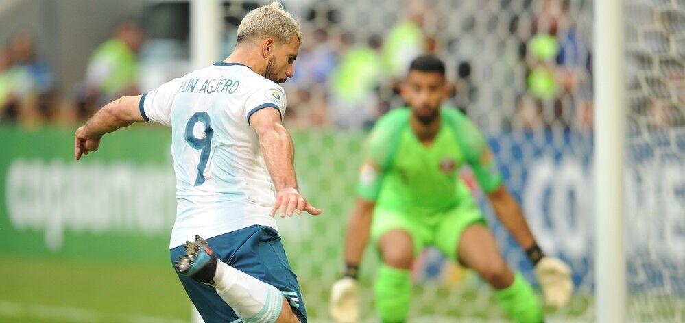 美洲杯-双中锋联袂破门 阿根廷2-0胜卡塔尔出线