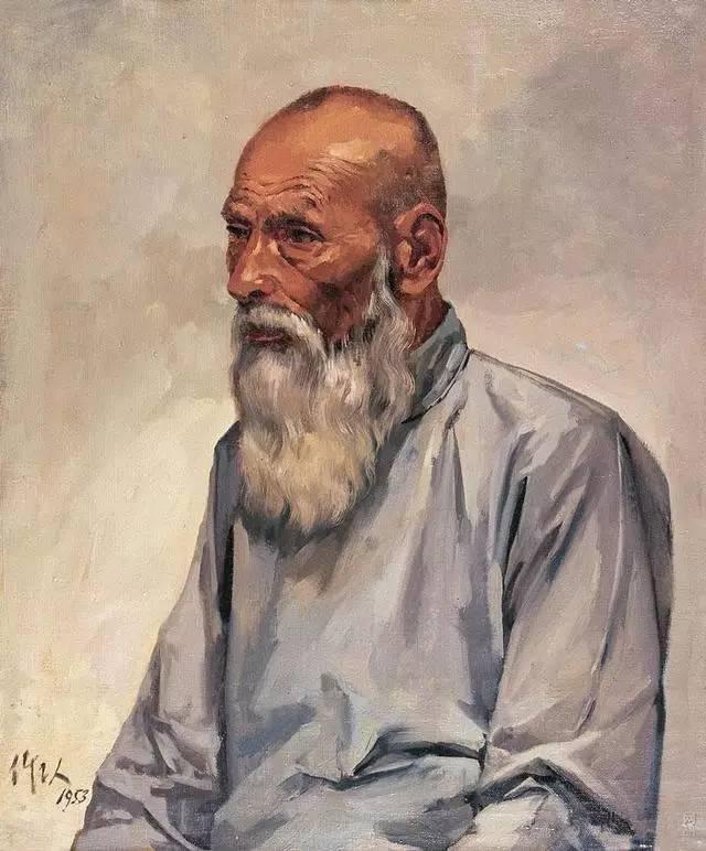 经典之作与手稿︱吴作人的素描稿 油画 国画