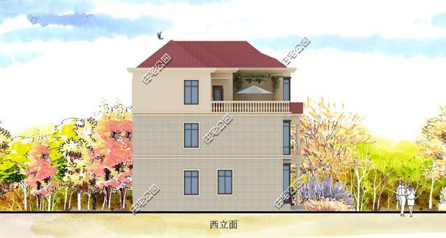 房子前院设计图片