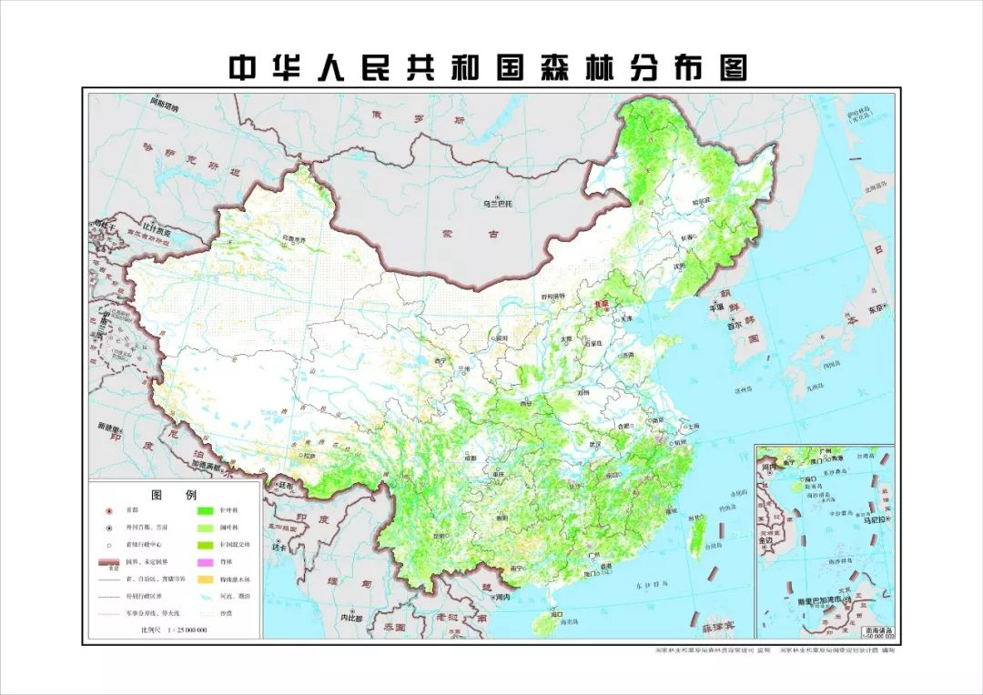 森林资源调查报告_22.96%,中国森林覆盖率最新数据揭秘_清查