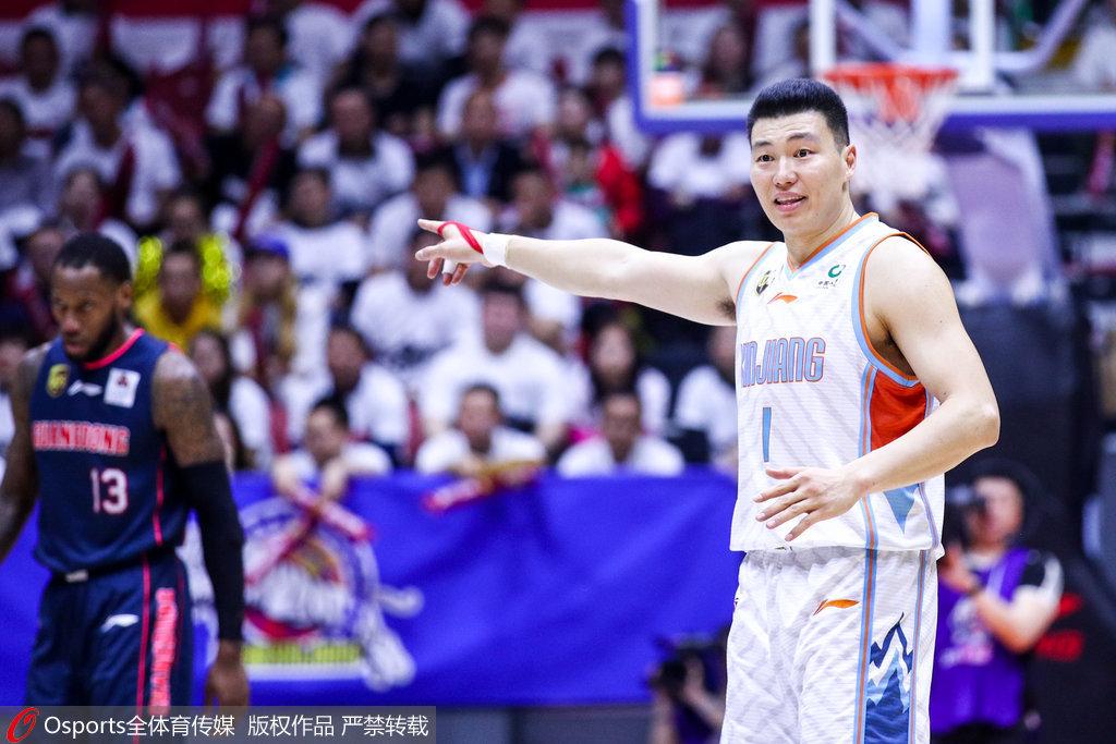 新疆男篮:李根为首冠立下汗马功劳 祝在上海更加辉煌