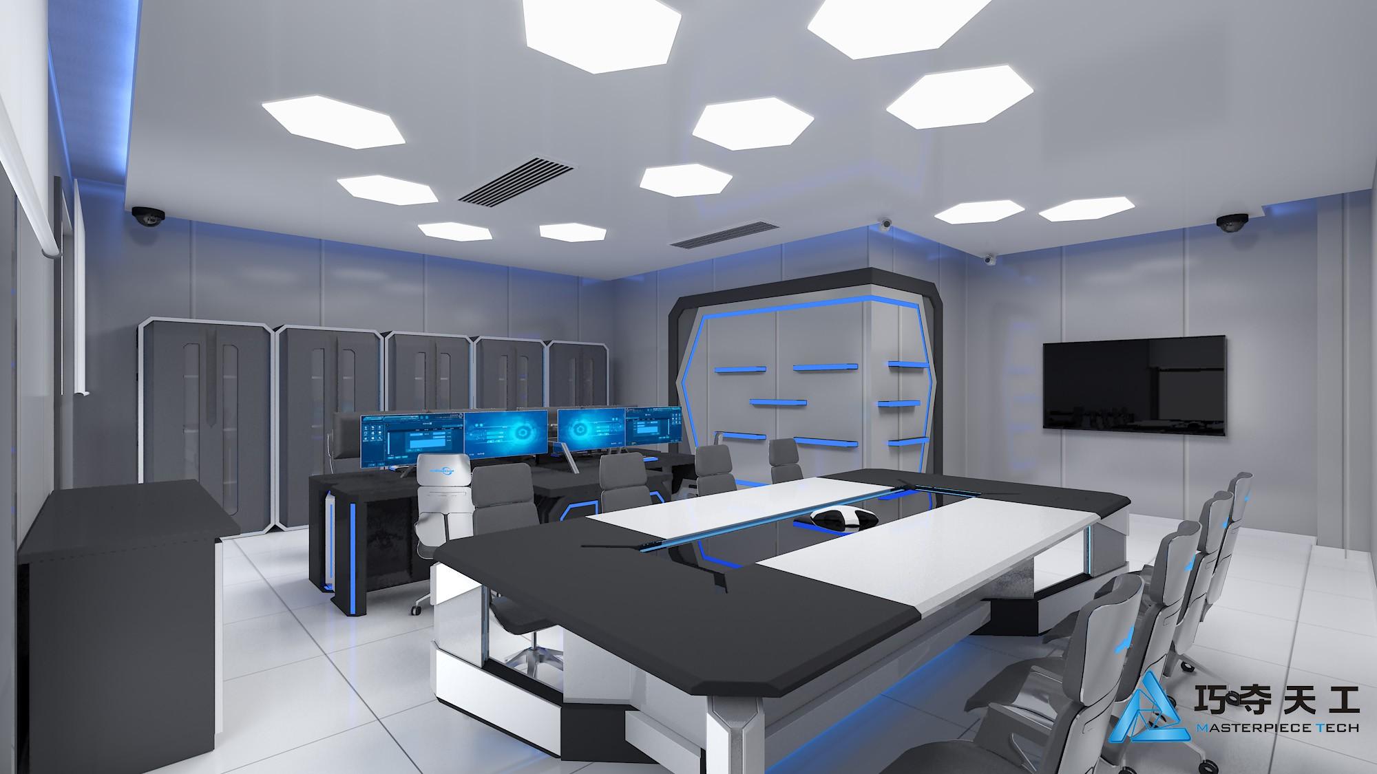 企业文化很关键,办公室展厅装修设计中如何表现出企业文化