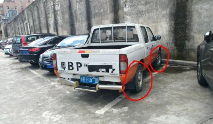 3辆执法车轮胎被连夜扎坏,1