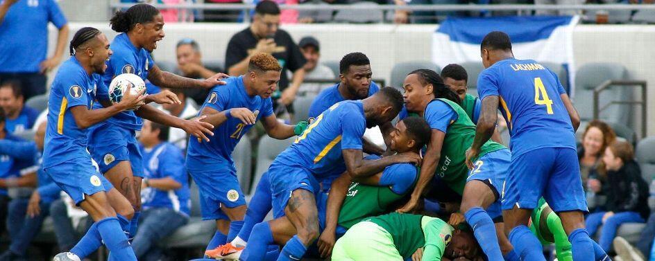 金杯赛-库索拉第93分钟绝杀 1-1牙买加携手出线