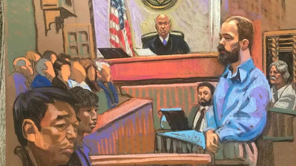 章莹颖案嫌犯当庭被判谋杀罪名成立!7月初决定是否死刑!_克里斯滕森