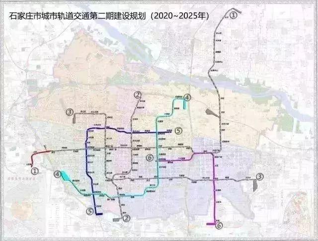 石家庄地铁规划图,2019石家庄地铁规划,最新石家庄地铁规划线路图