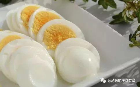 鸡蛋代替主食能减肥吗图片