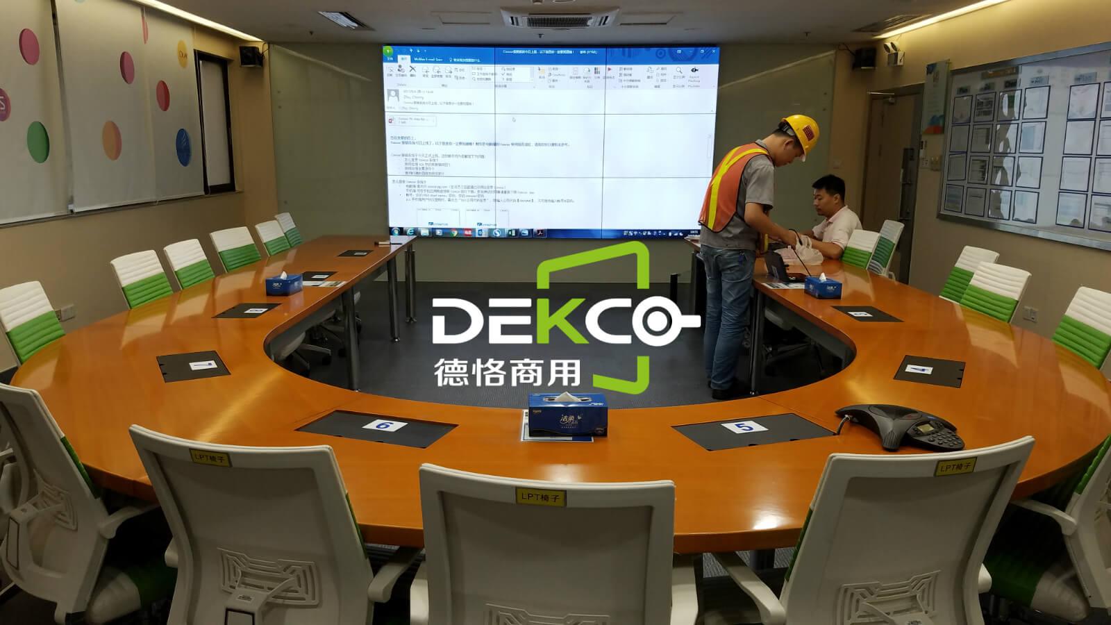 如何给会议室的液晶拼接屏添置无线投屏功能,实现笔记本,手机画面投屏显示_按键