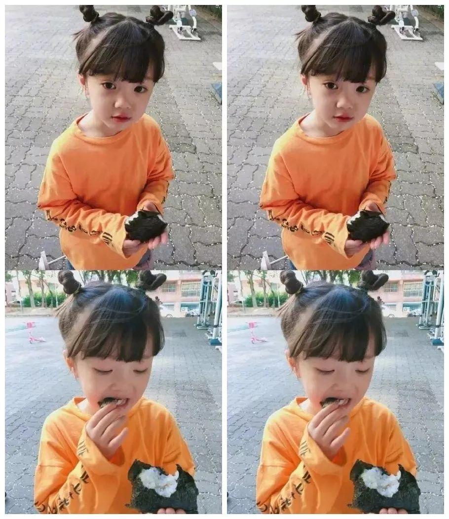 一岁孩子适合的发型图片 乖巧可爱的女童短头... _香香美发手机版