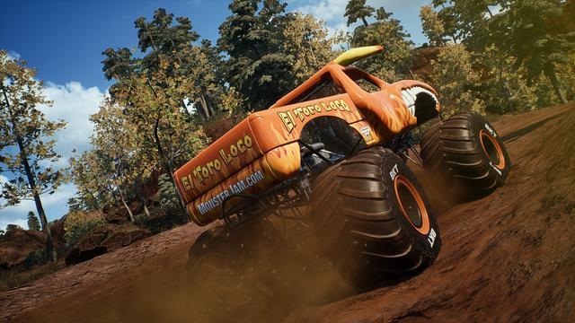 首款開放世界怪獸卡車遊戲《瘋狂大腳怪:鋼鐵巨人》上市_Jam