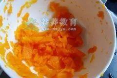解暑特色美食-土豆泥茄子圈