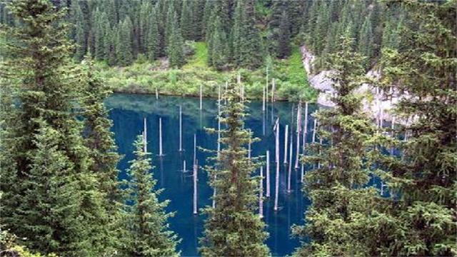 大自然的巧夺天工,因为一场地震,造就了这神奇的景观