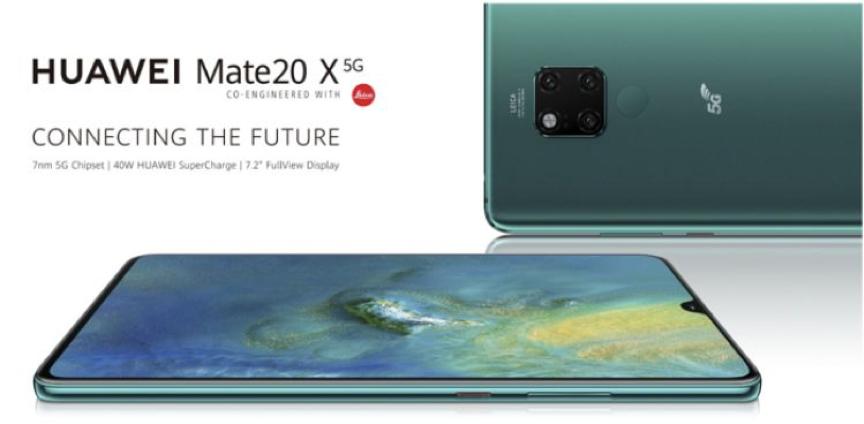 """获得首张5G手机""""身份证"""",华为Mate 20 X (5G)亮相MWC上海分展!-VDGER"""