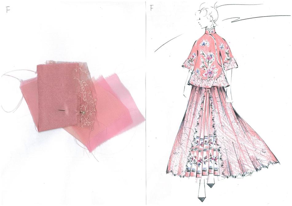 蝴蝶服装设计图