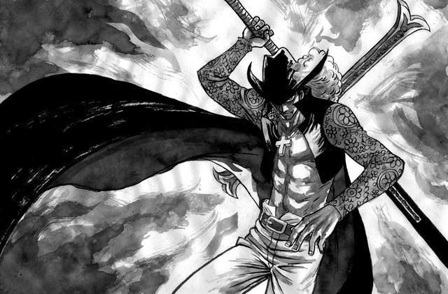 海賊王未解之謎:紅發和鷹眼誰更強?一場四皇和七武海的實力爭論_決鬥