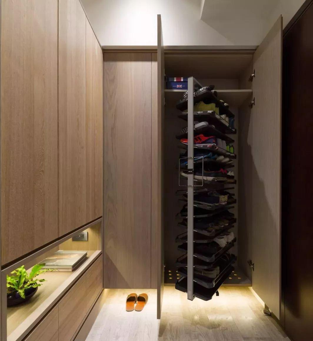 好看的鞋柜千篇一律,好用的鞋柜这样设计