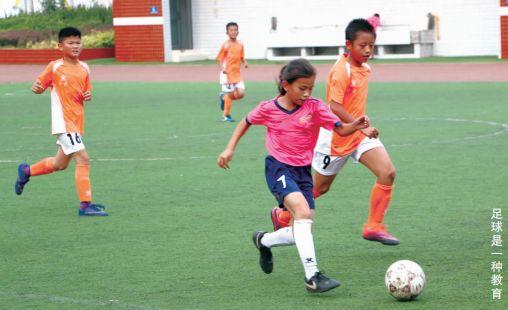 【焦点特写】济南小金小学校园足球踢出名堂