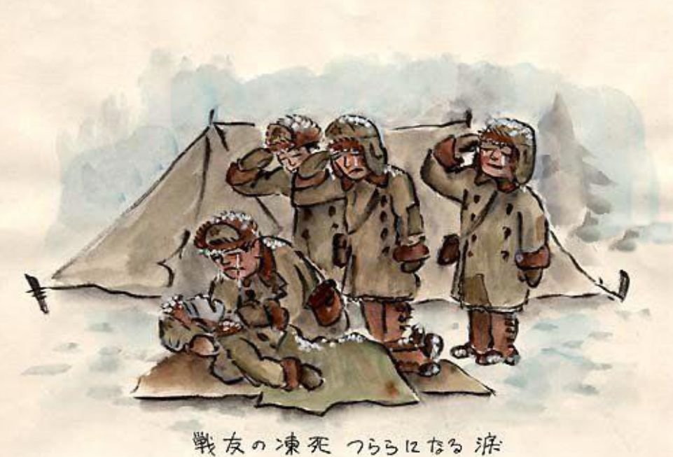 挖水漫画_日俘成西伯利亚苦役:宁砍木头,也不给苏联女兵烧洗澡水?_日本
