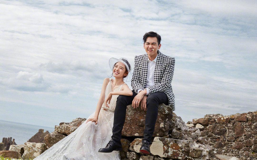 【组图】                     张若昀&唐艺昕结婚 | 你们就这样笑一辈子吧!